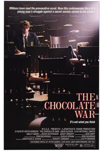Chocolate War Pôster