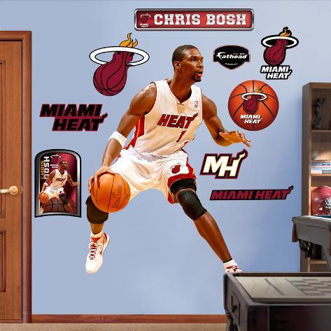 Chris Bosh  Wall Decal