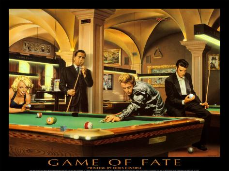 Game of Fate Art Print