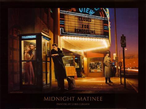 Midnight Matinee Framed Art Print
