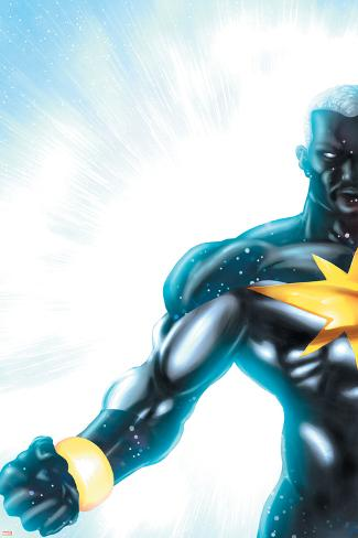 Captain Marvel No.24 Cover: Captain Marvel Poster