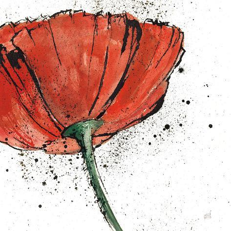 Not a California Poppy I Art Print
