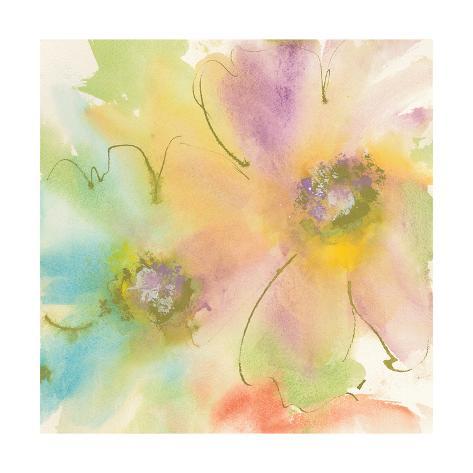 Rainbow Cosmos II Art Print