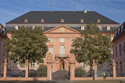 Germany, Rhineland-Palatinate, Mainz, Landtag Building Photographic Print