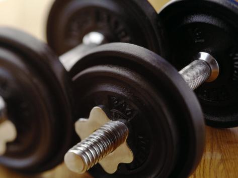 Weights Photographic Print