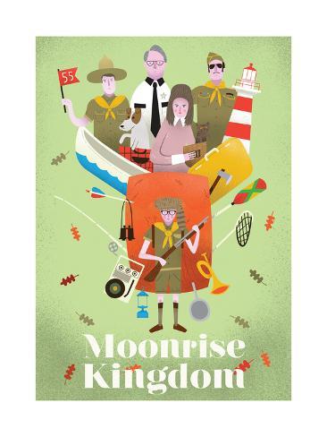 Moonrise Kingdom Giclee Print