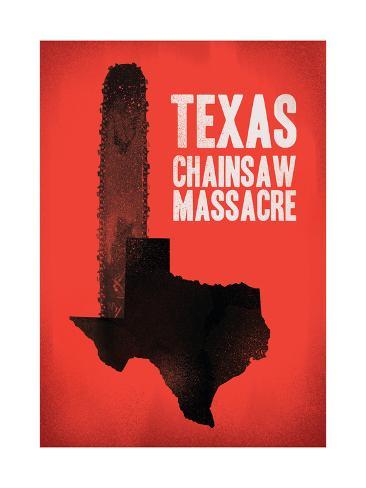 Texas Chainsaw Massacre Giclee Print