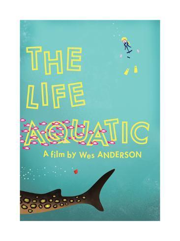 The Life Aquatic Giclee Print