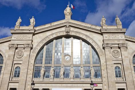 Gare Du Nord in Paris Photographic Print