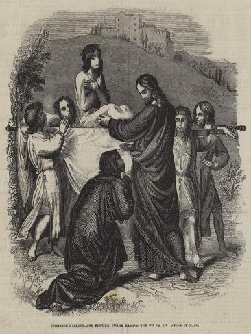 Christ Raising the Son of the Widow of Nain Lámina giclée