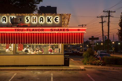 Usa Midwest Missouri Route 66 Springfield Steak N Shake