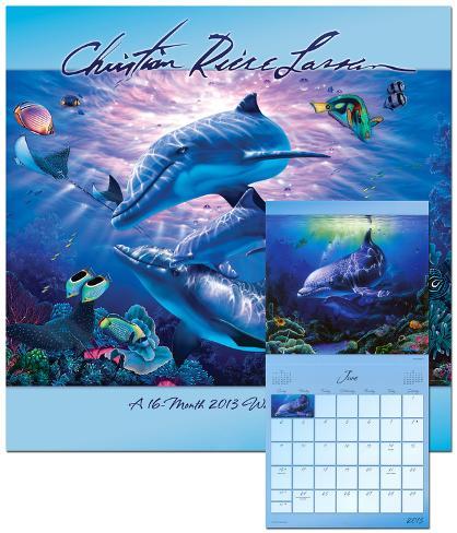 Christian Riese Lassen - 2013 Calendar Calendars