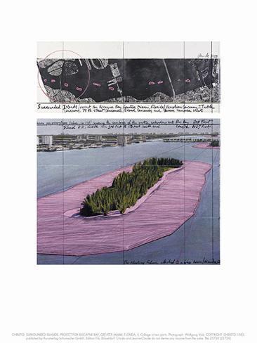 Surrounded Islands, Miami II Impressão artística
