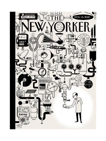 The New Yorker Cover - November 16, 2015 Premium Giclee Print