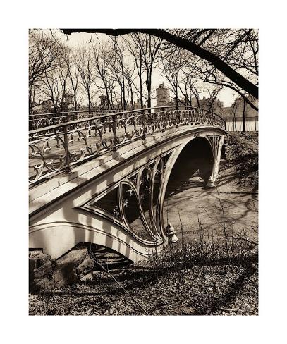 Central Park Bridges III Giclee Print