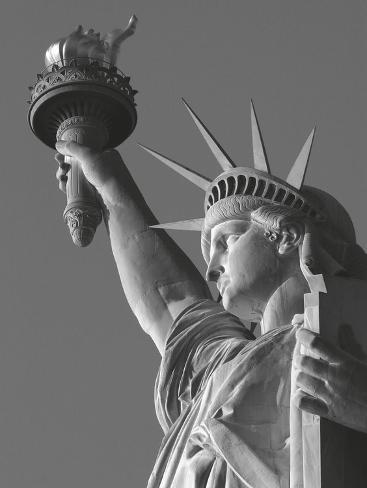 Liberty with Torch Art Print