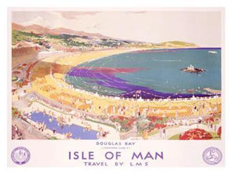Isle of Man, Travel by LMS Giclee Print