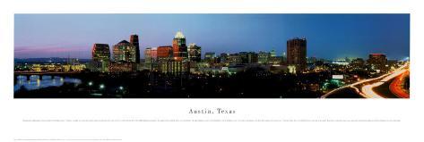 Austin, Texas Art Print