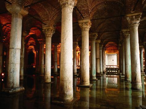 Underground Cistern, Istanbul, Istanbul, Turkey Photographic Print