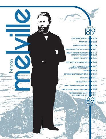 Herman Melville Art Print