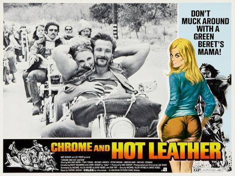 Chrome And Hot Leather, Kathrine Baumann, 1971 Premium Giclee Print