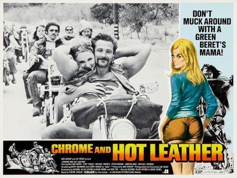 Chrome And Hot Leather, Kathrine Baumann, 1971 Art Print