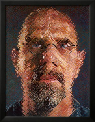 Self-Portrait, 2000-2001 Framed Art Print