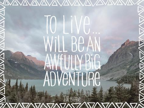Big Adventure Art Print