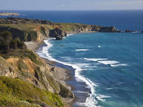 Big Sur Coastline in California, USA Photographic Print