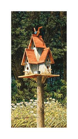 Birdhouse II Art Print