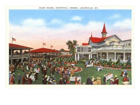 Churchill Downs, Louisville, Kentucky Art Print
