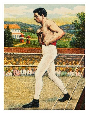 Cigarette Card Depicting Charles