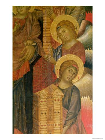 Angels from the Santa Trinita Altarpiece Giclee Print