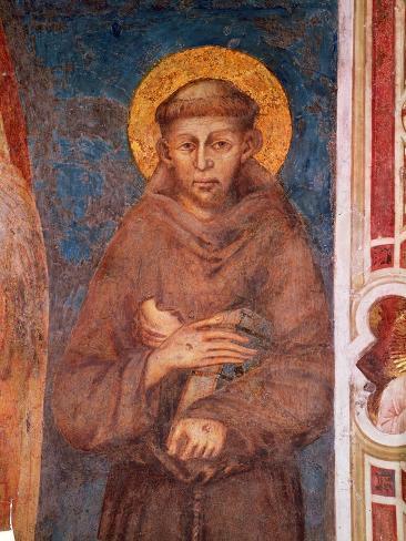 St. Francis (Detail) Lámina giclée