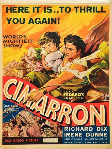 Cimarron, Irene Dunne, Richard Dix, 1931 Art Print