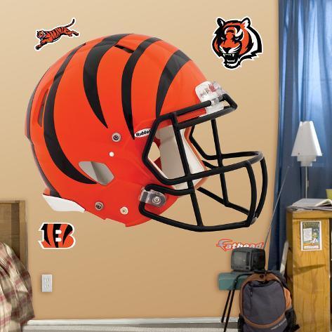 Cincinnati Bengals Revolution Helmet Wall Decal