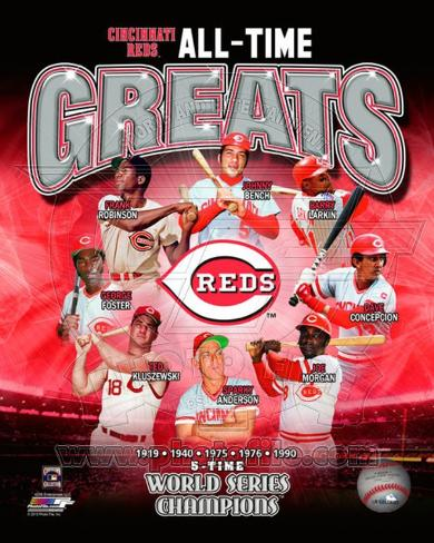 Cincinnati Reds All-Time Greats Photo