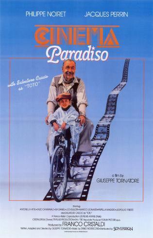 Cinema Paradiso Masterprint