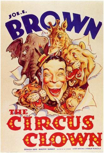 Circus Clown Impressão original