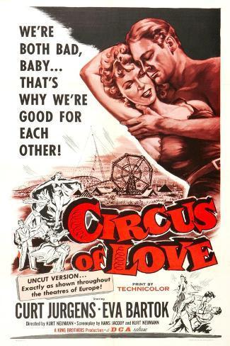 Circus of Love Art Print