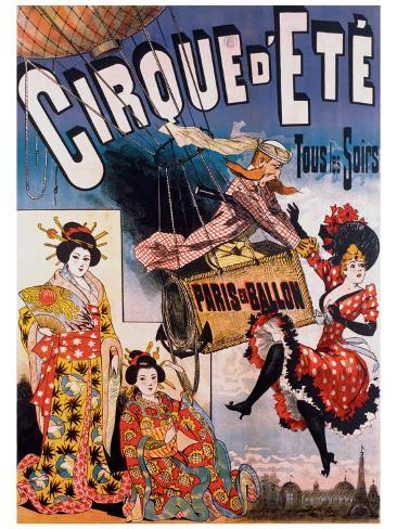 Cirque d'Ete Giclee Print