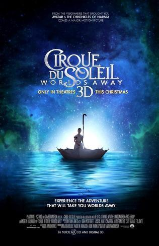 Cirque de Soleil Worlds Away Double-sided poster