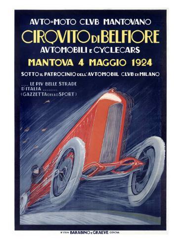 Cirquita di Belfiore Giclee Print