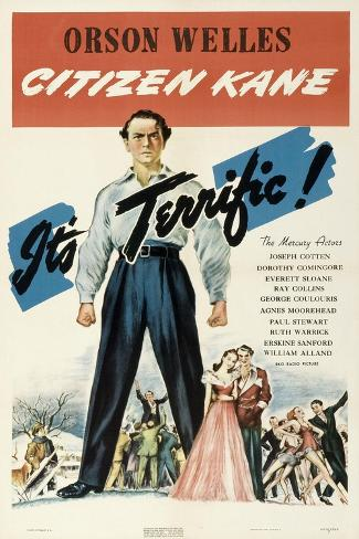 Citizen Kane, 1941 Giclee Print