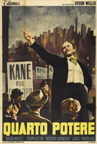 Citizen Kane - Italian Style Poster