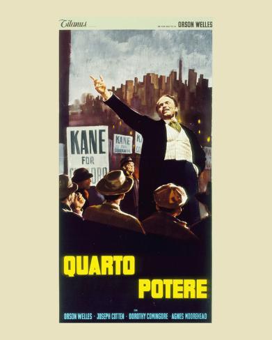Citizen Kane Art Print