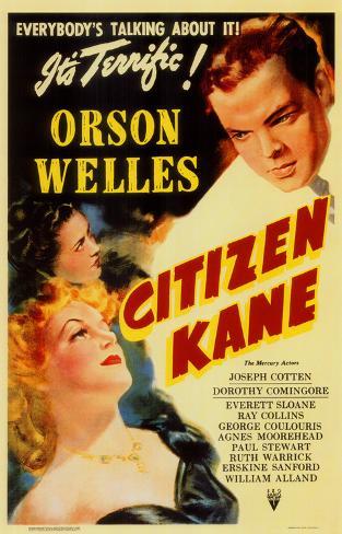 Citizen Kane Stampa master
