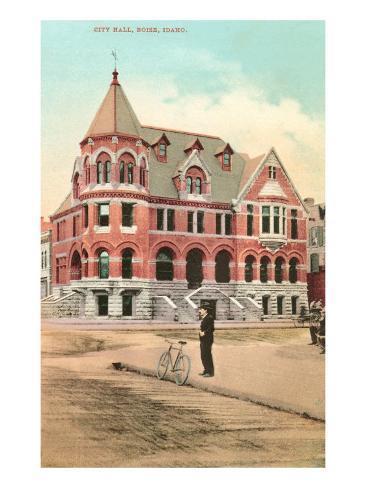 City Hall, Boise, Idaho Art Print
