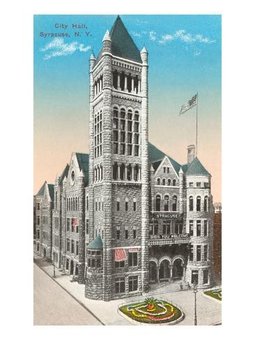City Hall, Syracuse, New York Art Print
