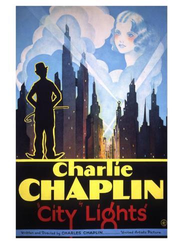 City Lights, 1931 アートプリント